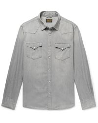 Jean Shop - Cotton-chambray Western Shirt - Lyst