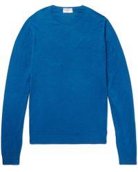 John Smedley - Merino Wool Sweater - Lyst