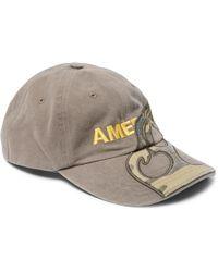 Vetements - + Reebok Embroidered Appliquéd Cotton-twill Baseball Cap - Lyst