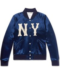 Gucci - Blue New York Yankees Edition Jacket - Lyst