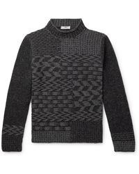 Inis Meáin - Donegal Merino Wool And Cashmere-blend Sweater - Lyst