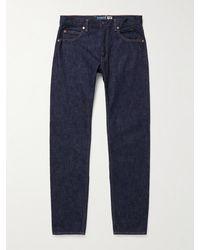 Blue Blue Japan Slim-fit Selvedge Denim Jeans - Blue