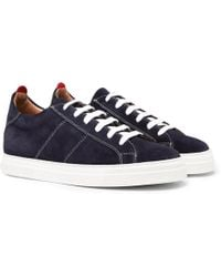 Oliver Spencer - Ambleside Suede Sneakers - Lyst