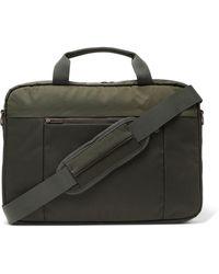NN07 Nylon Laptop Bag - Green