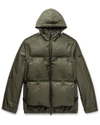 Moncler Genius - 5 Moncler Craig Green Coolidge Colour-block Quilted Shell Hooded Down Jacket - Lyst