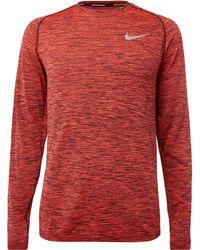 Nike - Dri-fit Knit Top - Lyst