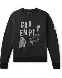 Cav Empt Chair Crew Sweat - Black