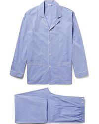 Zimmerli - Mercerised Cotton Pyjama Set - Lyst