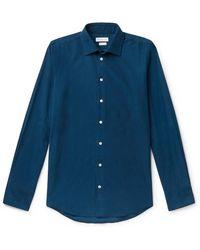 Richard James - Slim-fit Cotton-corduroy Shirt - Lyst