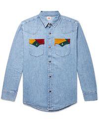 Levi's - 70's Denim Button Up Shirt - Lyst