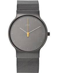 Braun - Bn0211 Classic Slim Stainless Steel Mesh Watch - Lyst
