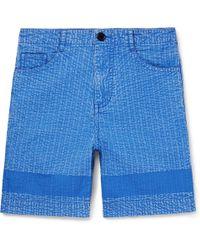 Craig Green - Acid-washed Cotton Shorts - Lyst