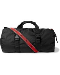 Givenchy - Webbing-trimmed Nylon Duffle Bag - Lyst