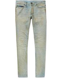 John Elliott - The Cast 2 Skinny-fit Stretch-denim Jeans - Lyst