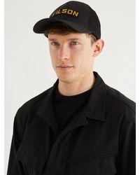 Filson Logo-appliquéd Mesh-panelled Cotton-twill Baseball Cap - Black