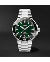 Oris Aquis Date Automatic 41.5mm Stainless Steel Watch, Ref. No. 01 733 7766 4157-07 8 22 05peb - Green