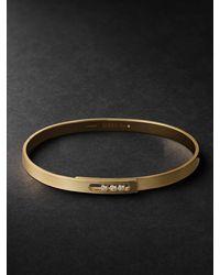 Messika Move Noa Pm 18-karat Gold Diamond Bracelet - Metallic