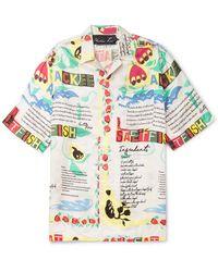 Martine Rose - Ackee Print Shirt - Lyst