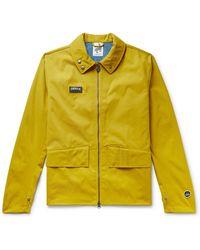 adidas Originals Spezial Holbeck Logo-appliquéd Canvas Jacket - Yellow