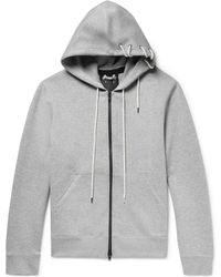 Craig Green - Lace-detailed Mélange Bonded-jersey Hoodie - Lyst