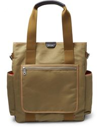 Paul Smith Webbing And Leather-trimmed Cotton-canvas Tote Bag - Green