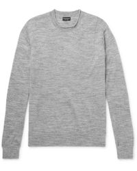 Club Monaco - Donegal-knit Sweater - Lyst