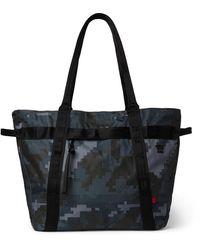 Herschel Supply Co. Alexander Camouflage-print Sailcloth Tote Bag - Blue