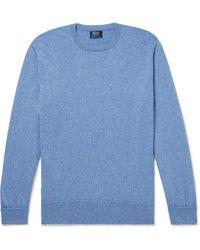 William Lockie Oxton Cashmere Sweater - Blue