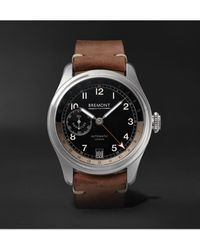 Bremont H-4 Hercules Limited Edition Automatic Gmt 43mm Stainless Steel Watch, Ref. No. H-4 Le, Ref. No. H-4-hercules-ss-r-s - Black