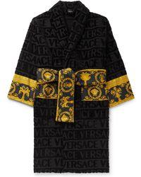 Versace - Men's Barocco Sleeve Robe - Lyst