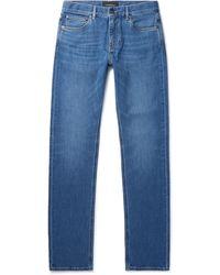 Ermenegildo Zegna Stretch-denim Jeans - Blue