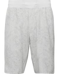 lululemon athletica T.h.e. Printed Swift Shorts - Gray