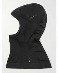 FALKE Nylon Stretch Ski Face Mask - Black