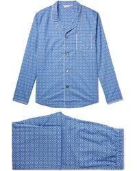 Derek Rose - Ledbury 5 Printed Cotton Pyjama Set - Lyst