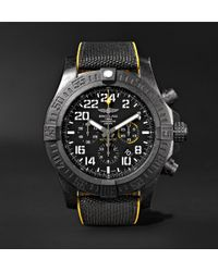 Breitling - Avenger Hurricane Chronograph 50mm Breitlight And Canvas Watch - Lyst