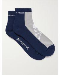 MASTERMIND WORLD Cotton-blend Socks - Blue