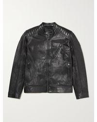 Belstaff V Racer 2.0 Slim-fit Leather Jacket - Black