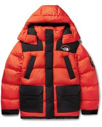 The North Face Sagarmatha Oversized Quilted Shell Down Jacket - Red