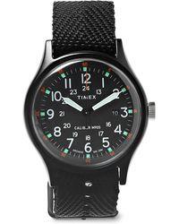 Timex - Mk1 Aluminium And Nylon-webbing Watch - Lyst