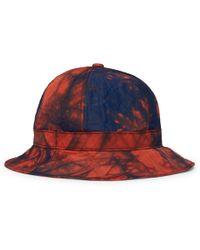 Lyst - Milkcrate Athletics Black + White Tie-Dye Bucket Hat in Black ... 04e4c532f028