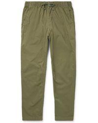 Save Khaki United - Easy Cotton-twill Drawstring Trousers - Lyst