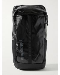 Patagonia Black Hole Logo-print Recycled Coated-ripstop Backpack