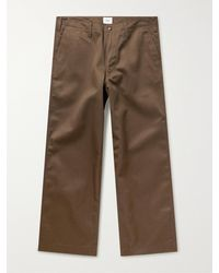 WTAPS Gorilla Twill Trousers - Brown