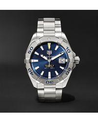 Tag Heuer Aquaracer Automatic 40.5mm Steel Watch, Ref. No. Wbd2112.ba0928 - Blue