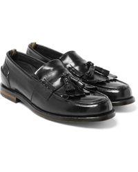 Officine Creative - Cambridge Leather Kiltie Tasselled Loafers - Lyst