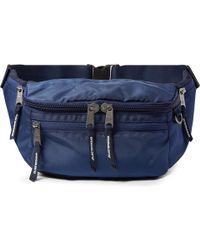 Indispensable Canvas Belt Bag - Blue