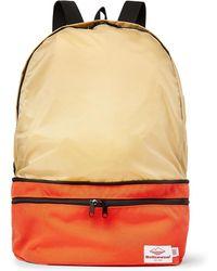 Battenwear Eitherway Cordura And Nylon-ripstop Convertible Bag - Orange