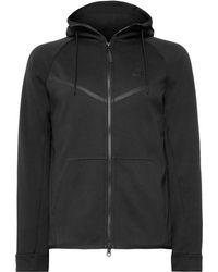 Nike - Sportswear Windrunner Slim-fit Tech Fleece Zip-up Hoodie - Lyst