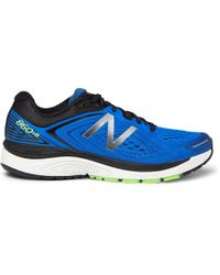 New Balance - 860v8 Rubber And Mesh Running Trainers - Lyst