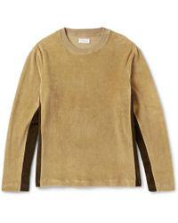Fanmail Organic Cotton-velour Sweatshirt - Multicolour